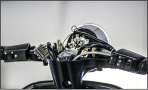 Vespa PX 200 mit offenem Lenker