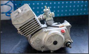 Revidierter Simson S51 oder KR51/2 Motor welcher mit Glasperlen gestrahlt wurde