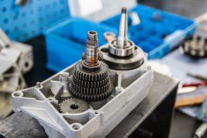 Getriebe des M541 Motors Simson