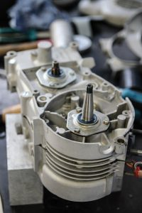 Rechte Seite M53 Motor