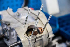 Motorblock ohne Zylinder Simson S51