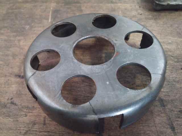 Gerissener Kupplungskorb an einer Vespa PX 80