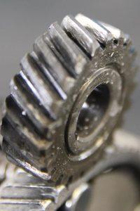 mittlerer Zahnradverschleiss an einem Primärritzel von einer simson