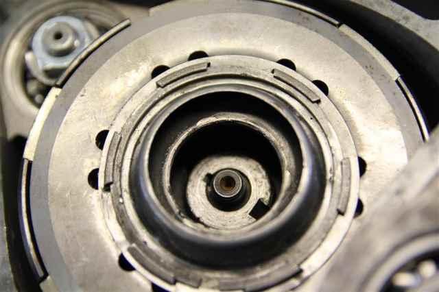 Kupplungspaket im Kupplungskorb vespa V50