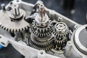 M53 Motor mit allen Getriebeteilen