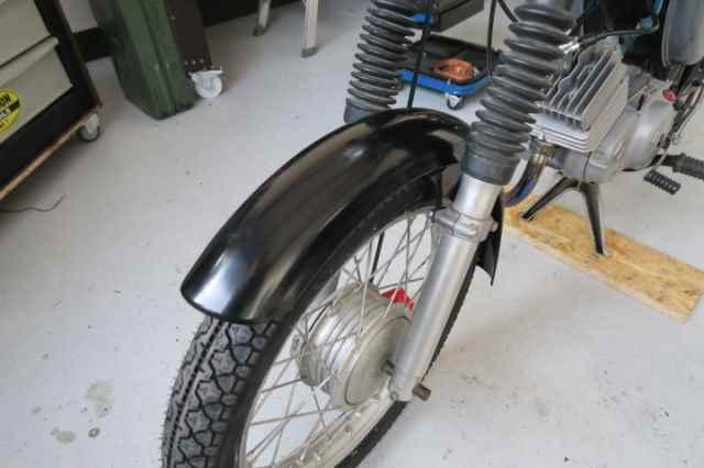 Reparatur Rad Felge Reifen S51 MZ Simson