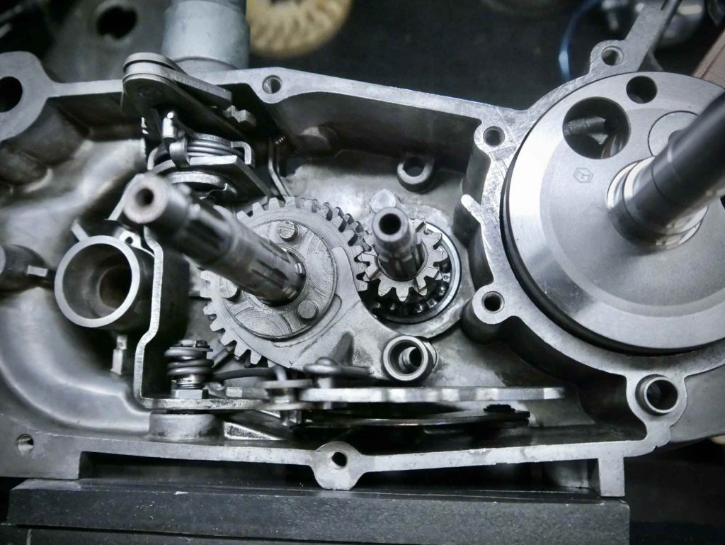4 Gang Getriebe Simson Habicht M54 Motor