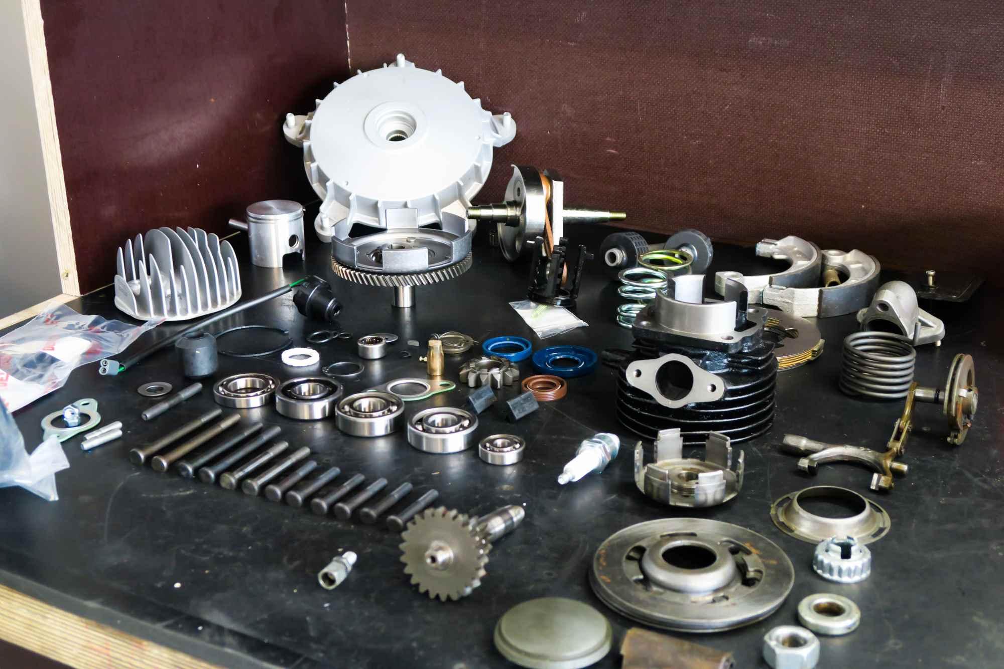 Einzelteile Vespa V50 Motor Neuteile