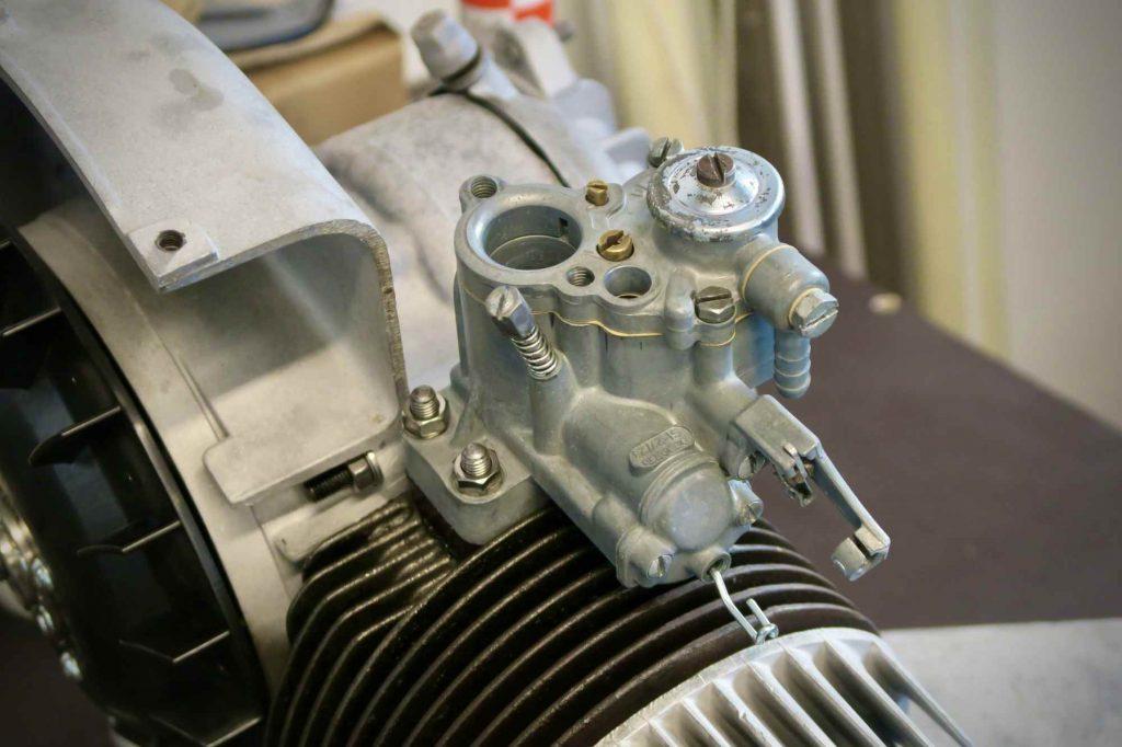 Fallstrom Vergaser Dellorto SI 27 23 an Vespa 160 GS Motor