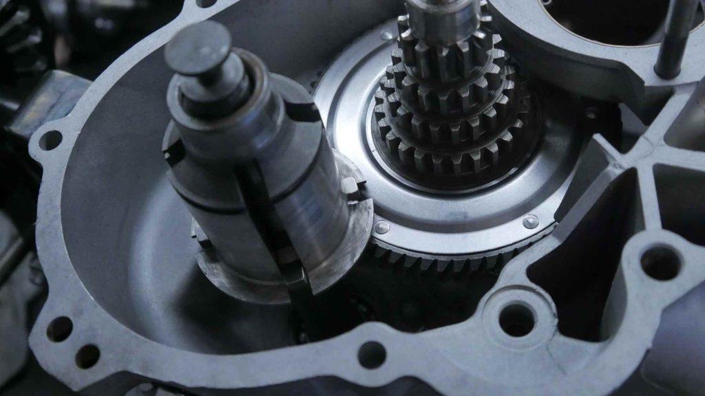 Getriebe Vespa GTR 125 Motor ohne Zahnräder