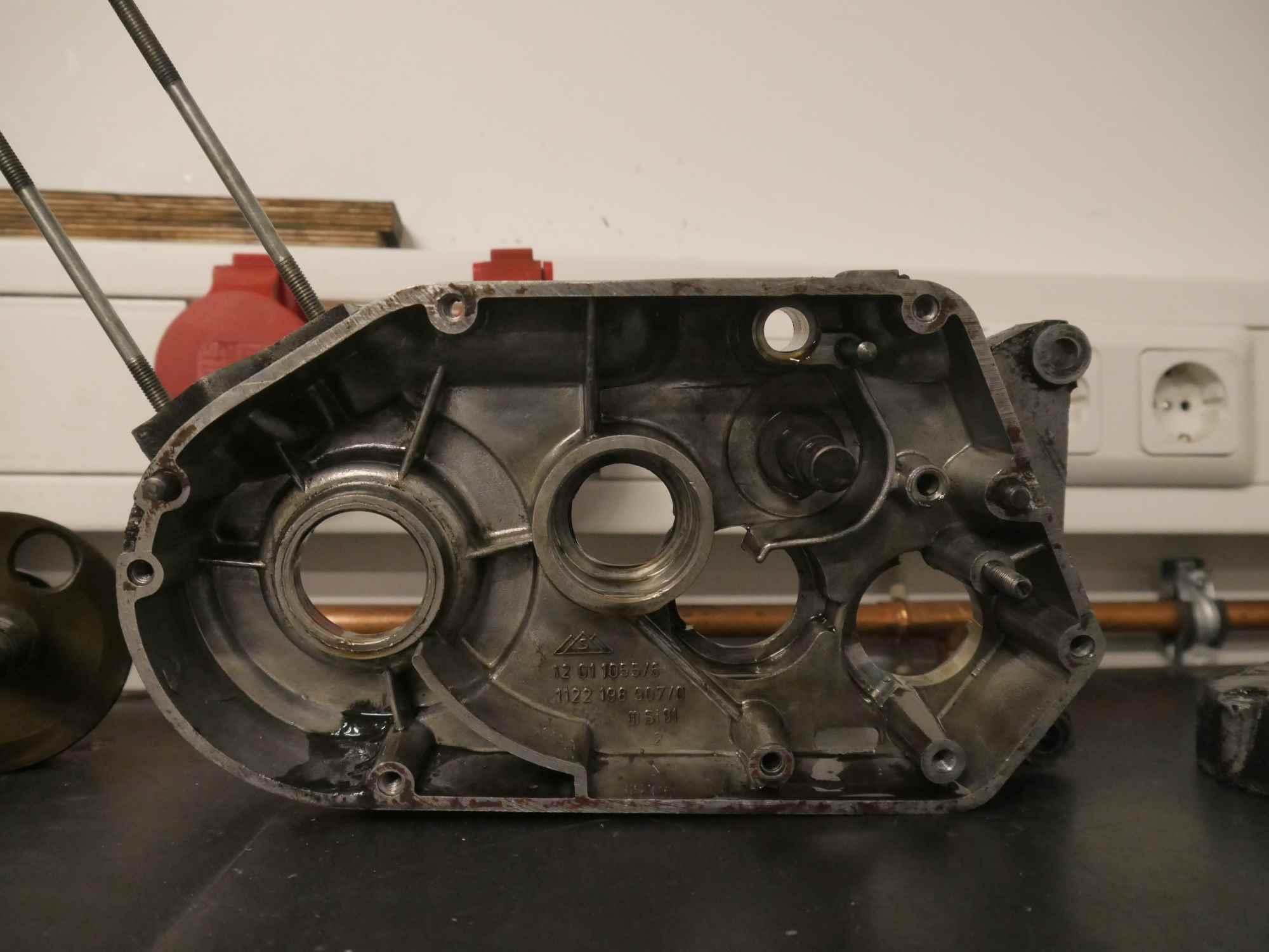 Linkes Motorgehäuse S51 Schwalbe KR512