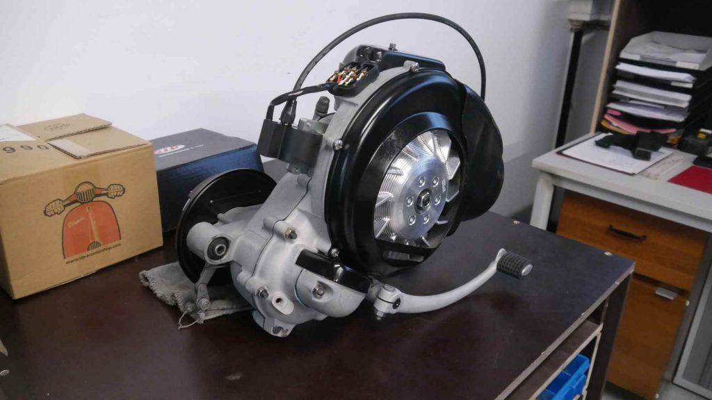 Motor Vespa GTR 125 komplett mit Vape