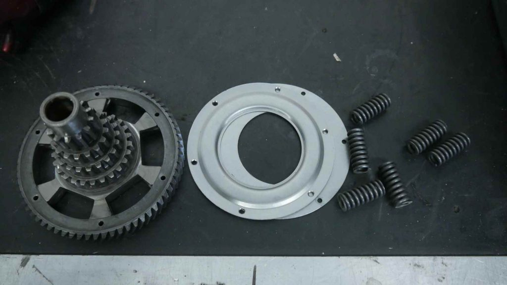 Nebenwelle zerlegt Vespa GTR 125