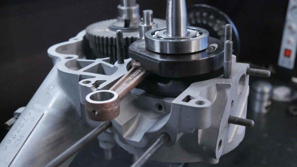 Vespa GTR 125 Motor offen mit Kurbelwelle und Getriebe