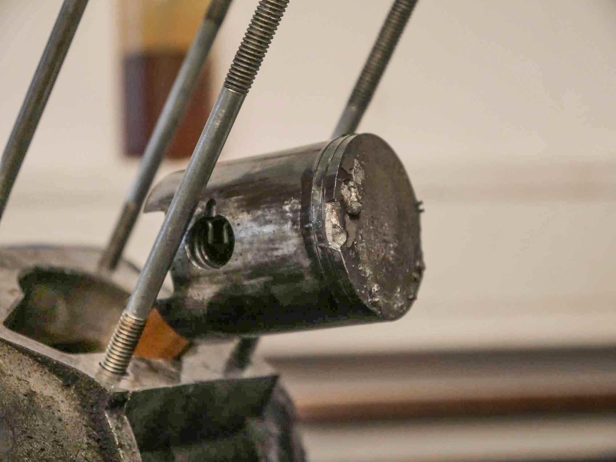 Kolbenfresser Kolbenklemmer am Simson S51 Motor mit Tuning