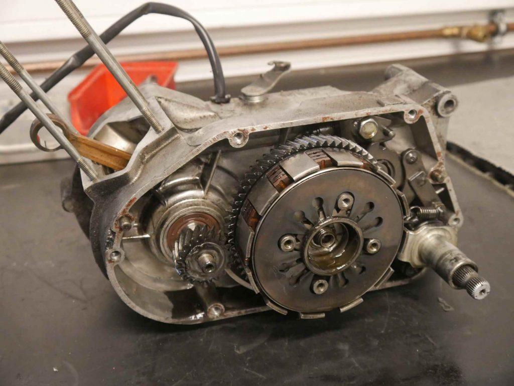 S51 Motor ohne Kupplungsdeckel und ohne Zylinder