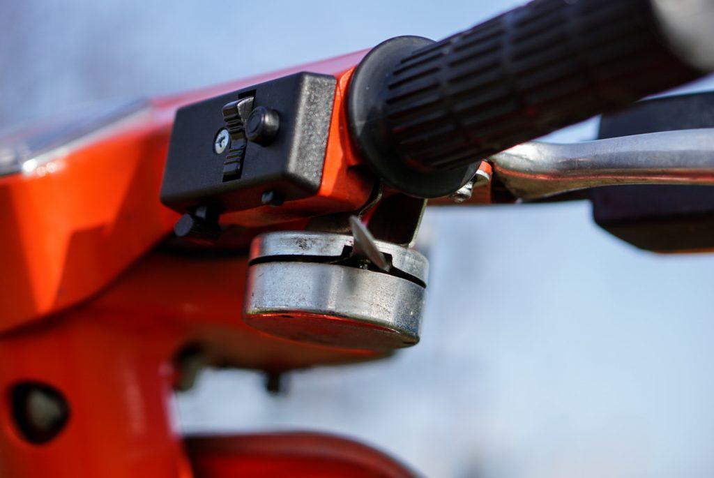 Schalter und Klingel Vepa V50 rot