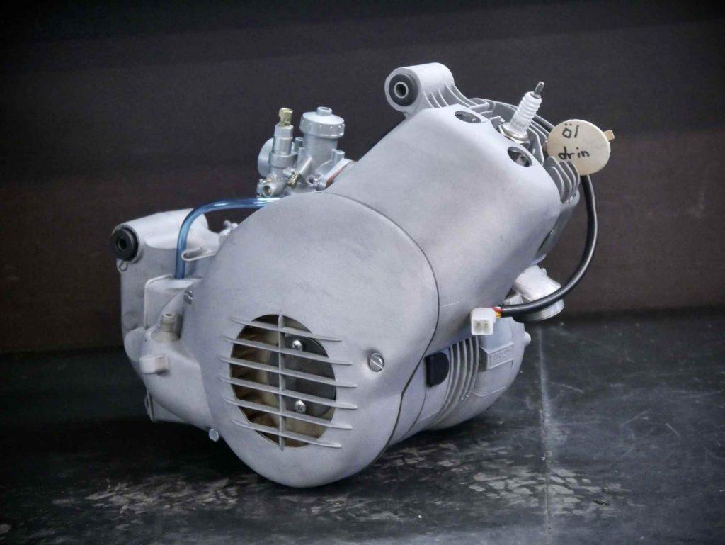 Simson M54 Habicht Motor nach Motorrevision mit Tuning und Vape Zündung