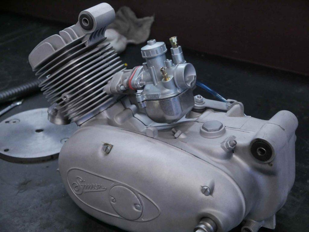 Simson Motor frisch revidiert