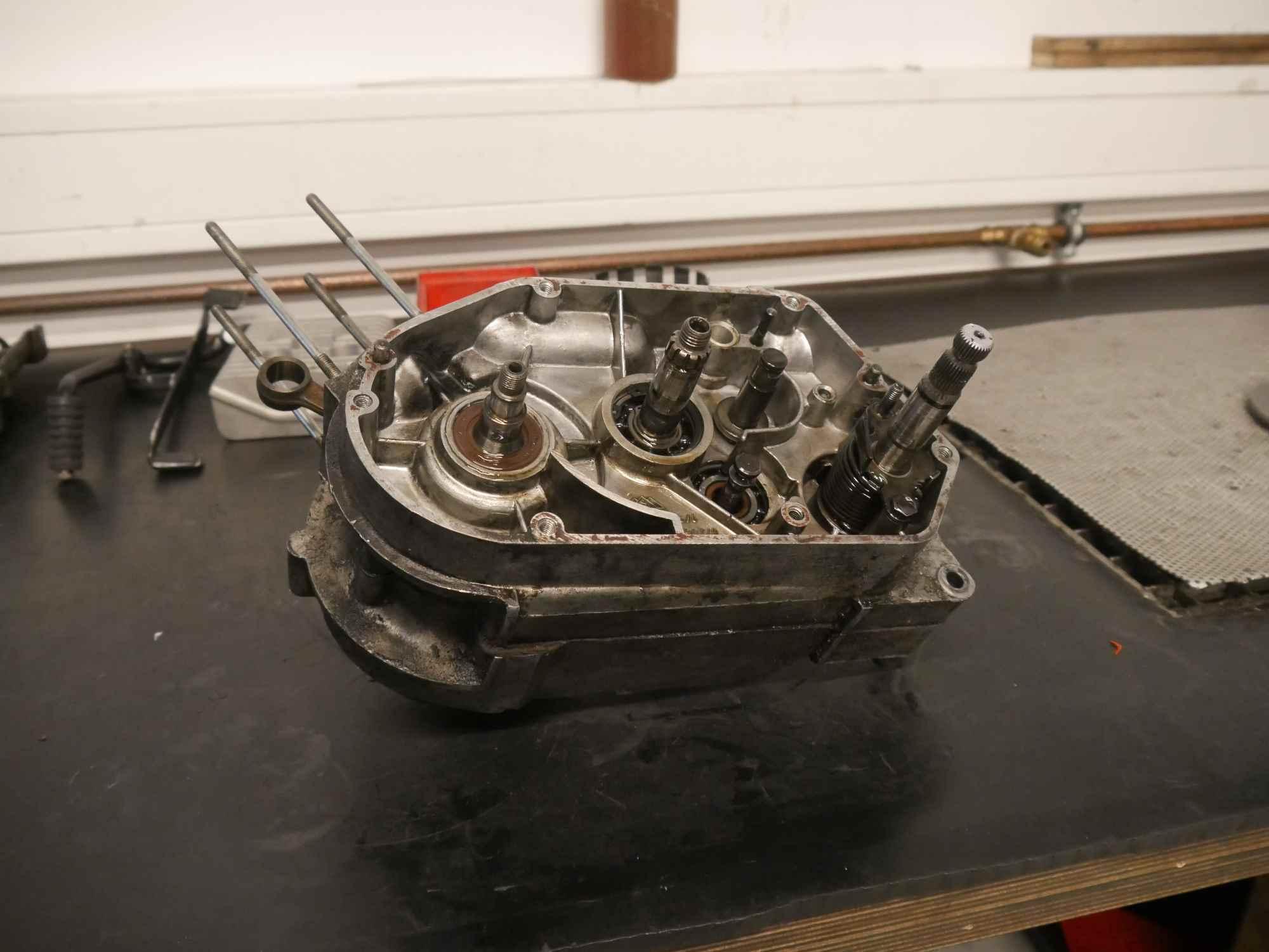 Simson Motor ohne Primärtrieb und Kupplung