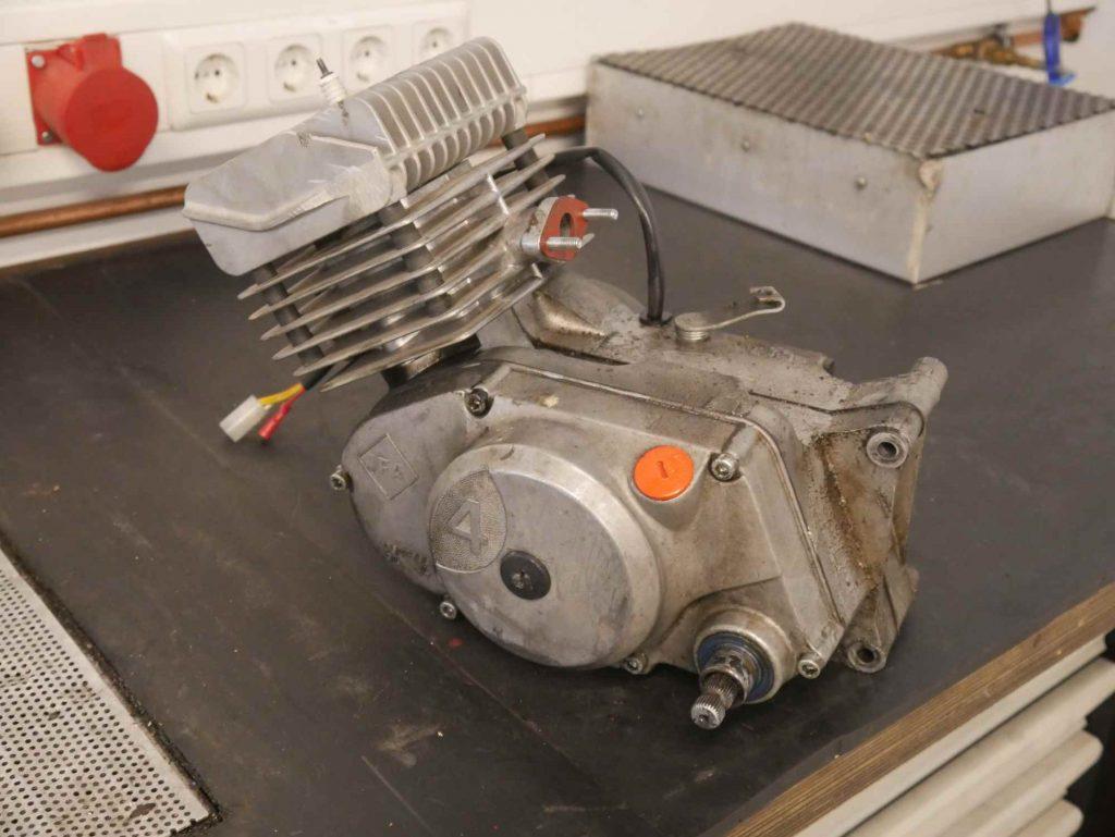 Simson S51 Motor Kupplungsdeckel Seite
