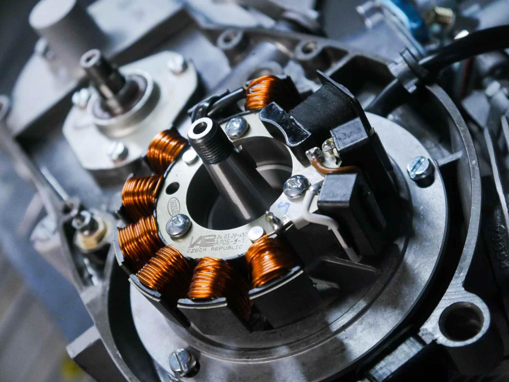 Vape Grundplatte an Simson Motor nach Revision