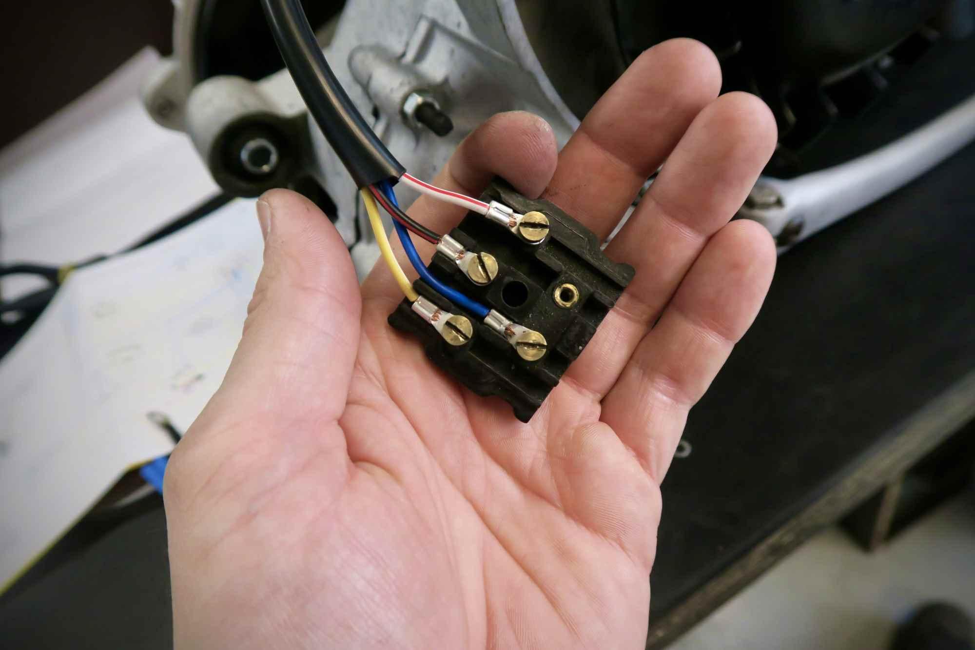 Verkabelung Pinasco Flytech Elektronik Zündung