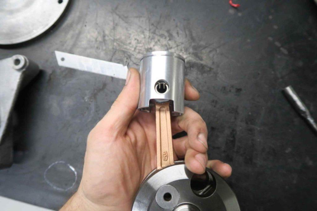 1-Ring Tuning Kolben an Kurbelwelle Simson S51