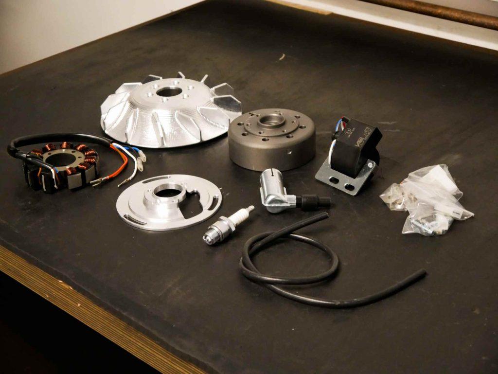 Einzelteile Vape 12V Elektronikzündung