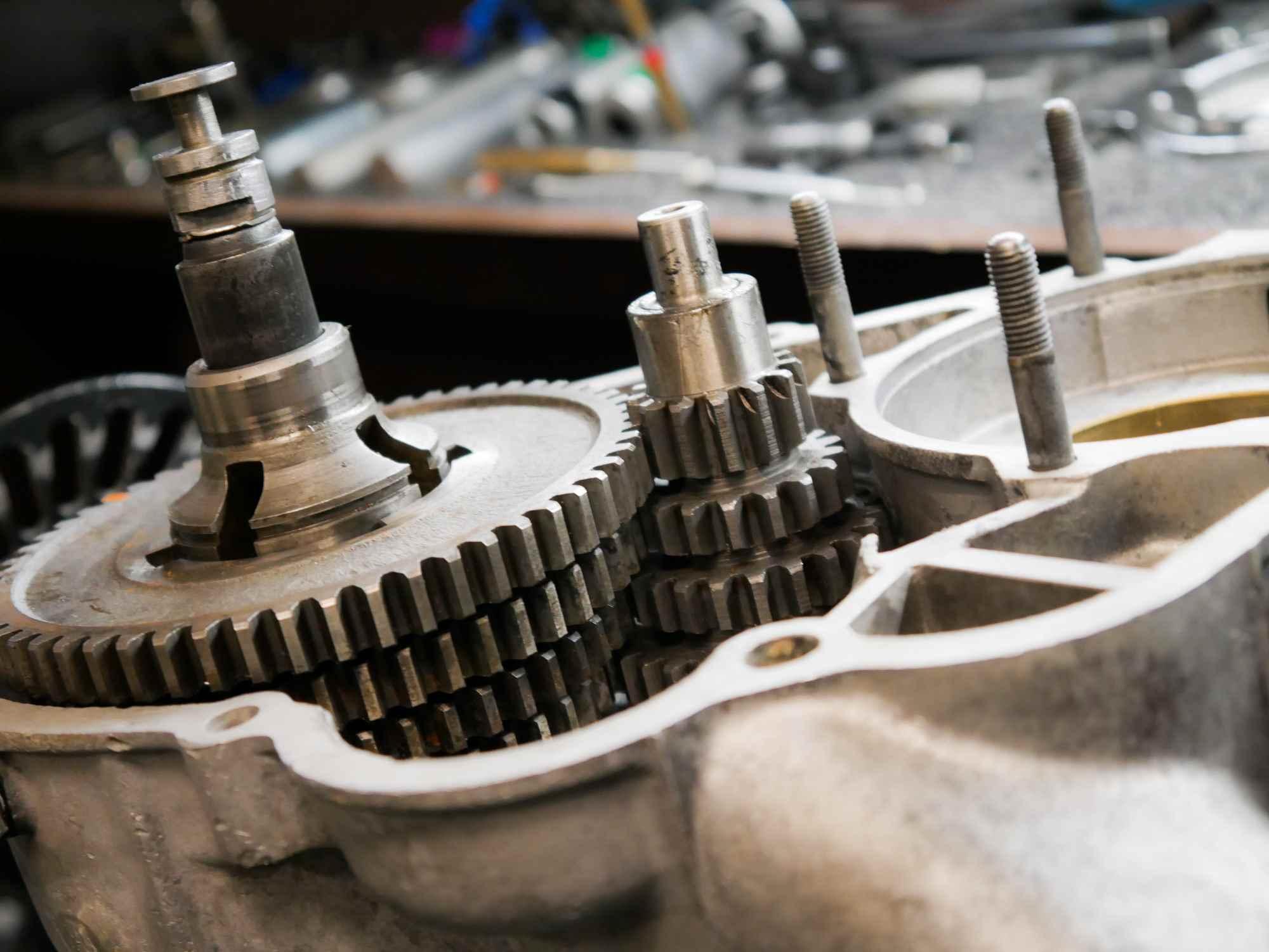 Getriebe vormontiert Vespa VBB Motor