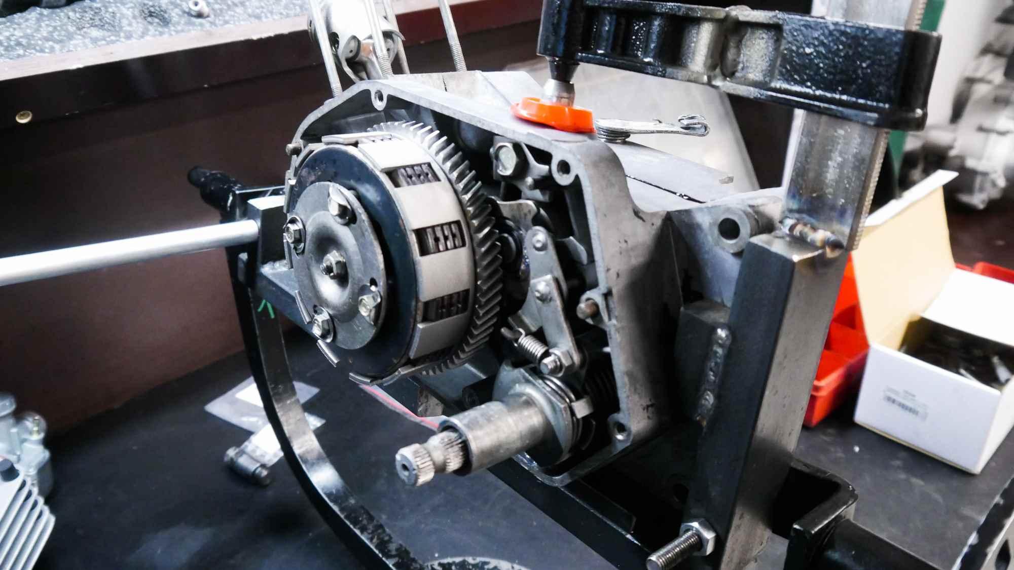 Kupplung komplett montiert Simson S51 Motor