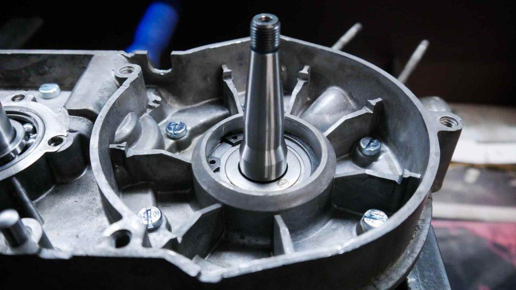 Ölleitscheibe Kurbelwelle rechts Simson Schwalbe Motor