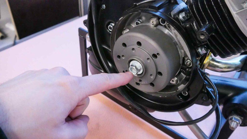 Polrad Vape Vespa V50 Motor