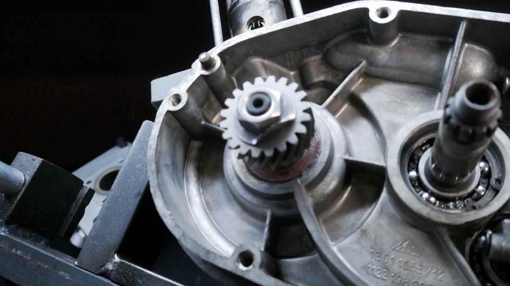 Ritzel mit Sicherungsblech Simson S51 Motor