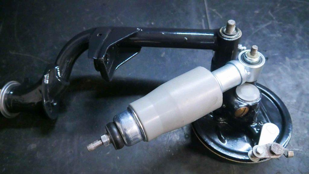 Schwinge mit Stoßdämpfer Vespa V50
