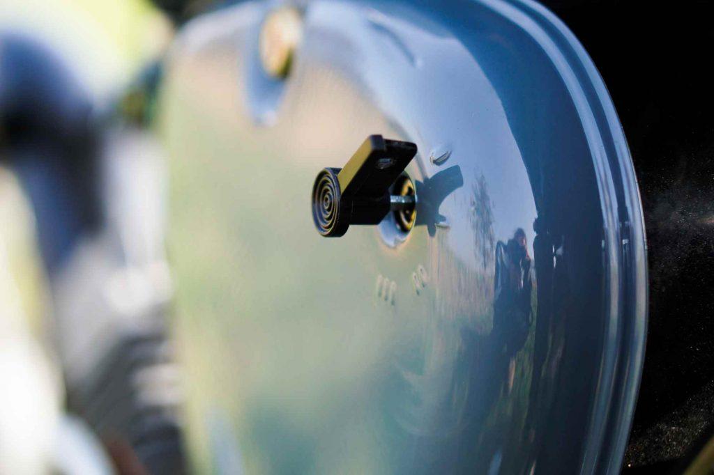 Seitendeckel herzkasten grau lackiert Simson S51 mit Universal Zündschlüssel