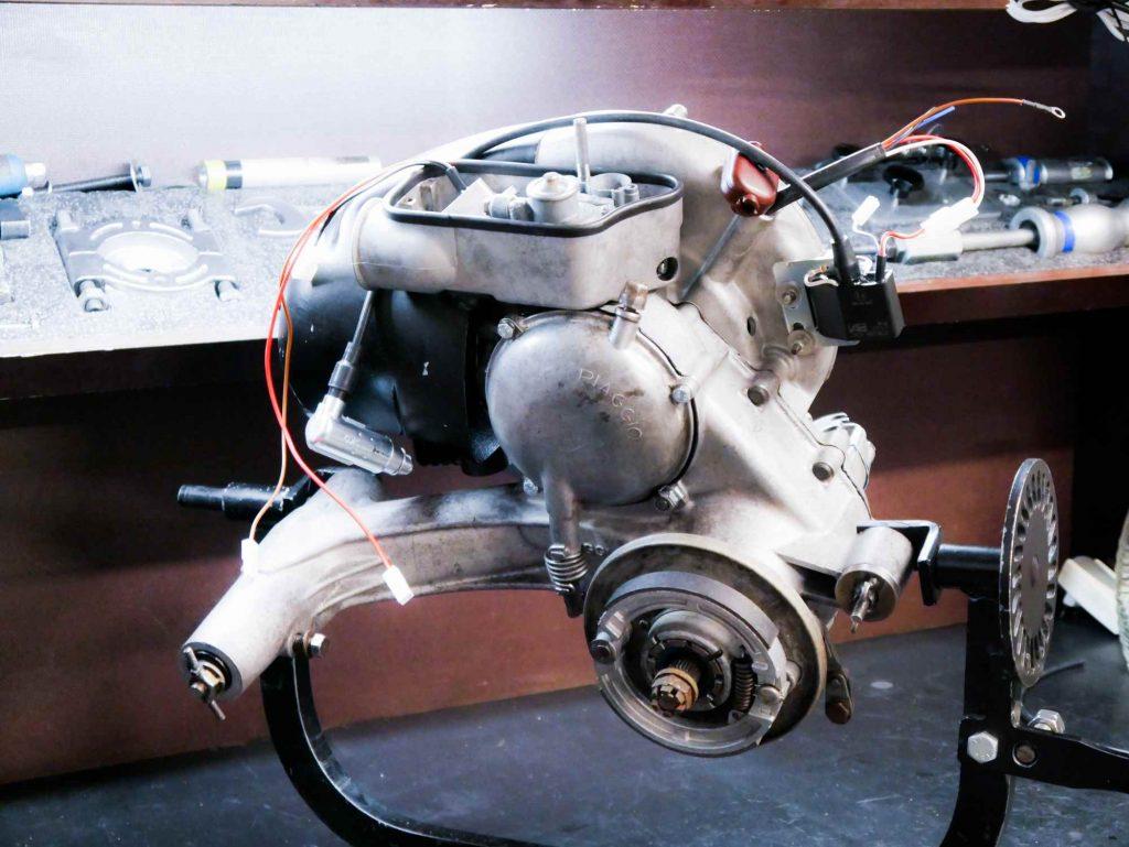 VBB1T Vespa Motorrevision mit Tuning
