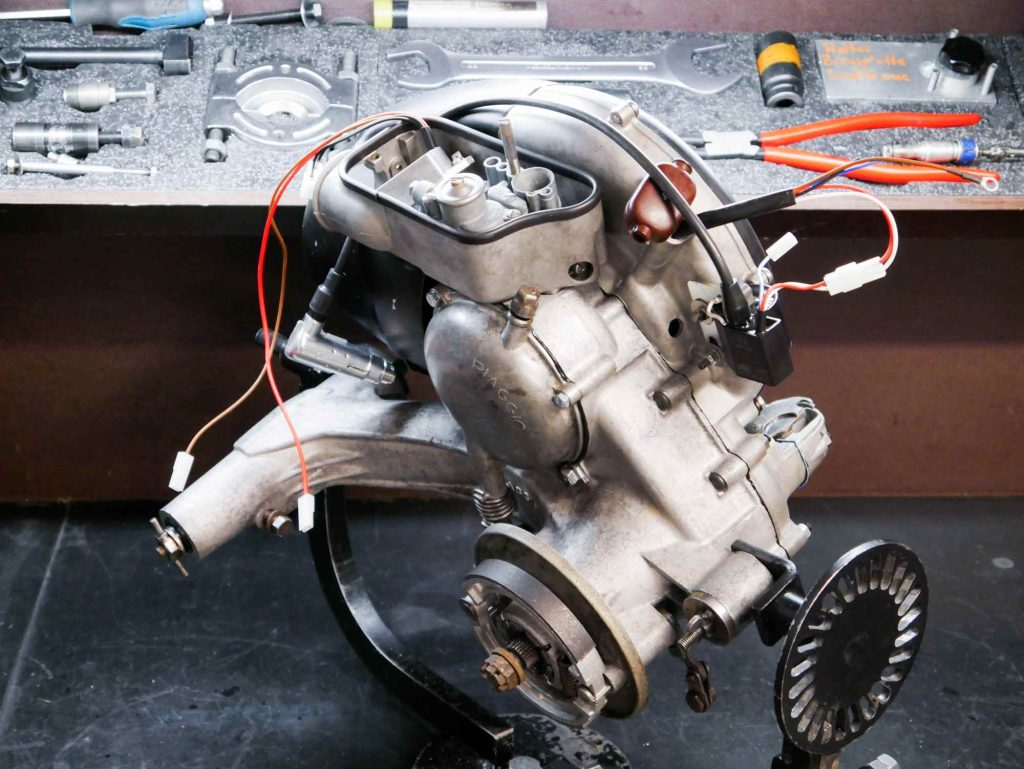 Vespa VBB2T Motorrevision mit Tuning und Elektronikzündung