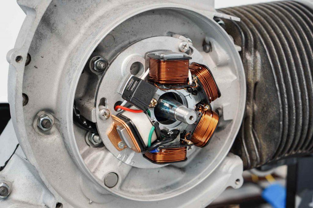 Zündung Zündgrundplatte für Vespa PX 200 neu