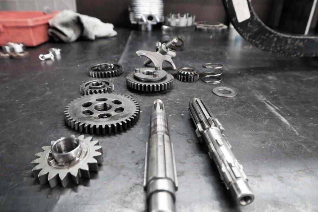 Getriebe Einzelteile Simson Schwalbe KR 51 3-Gang Motor