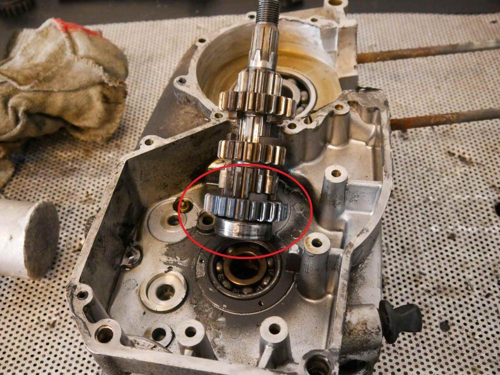 Getriebeschaden an ETZ 250 Motor