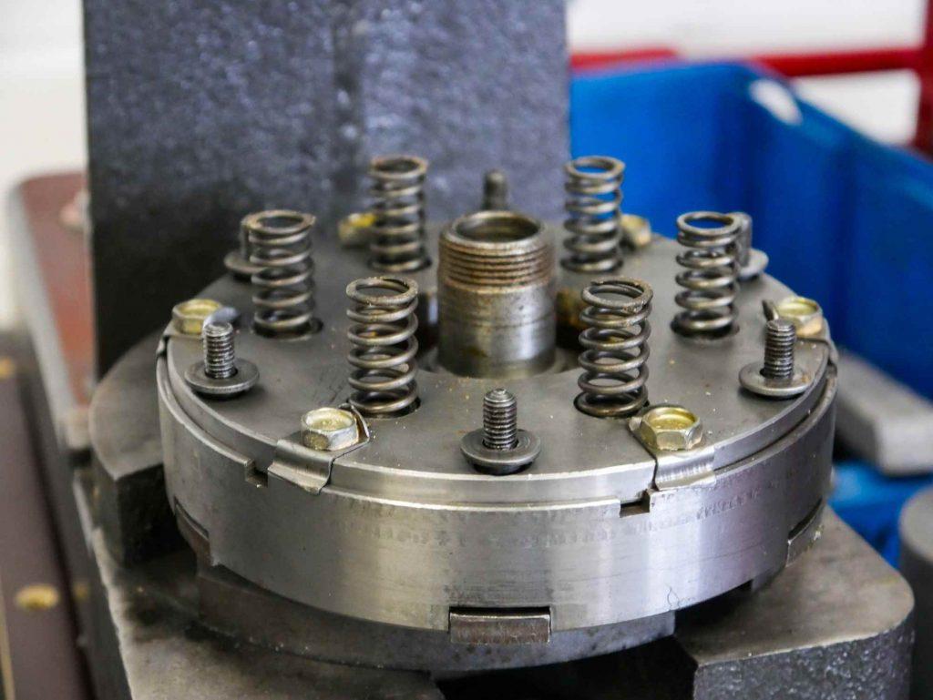 Kupplung zerlegt von einer MZ ETZ 250