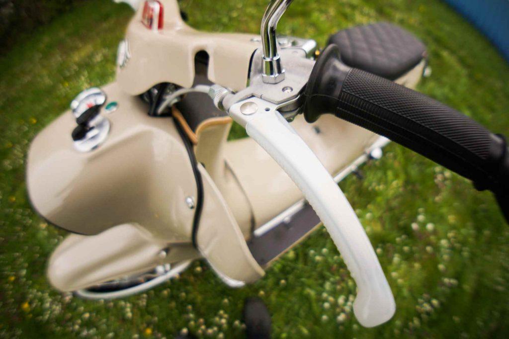 Lenker Kupplungshebel Simson Schwalbe KR51 restauriert