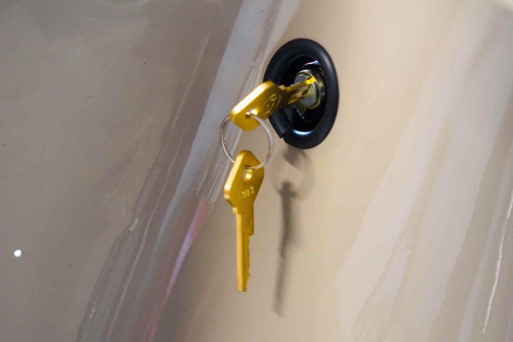 Lenkschloss mit Schlüssel Simson Schwalbe KR51