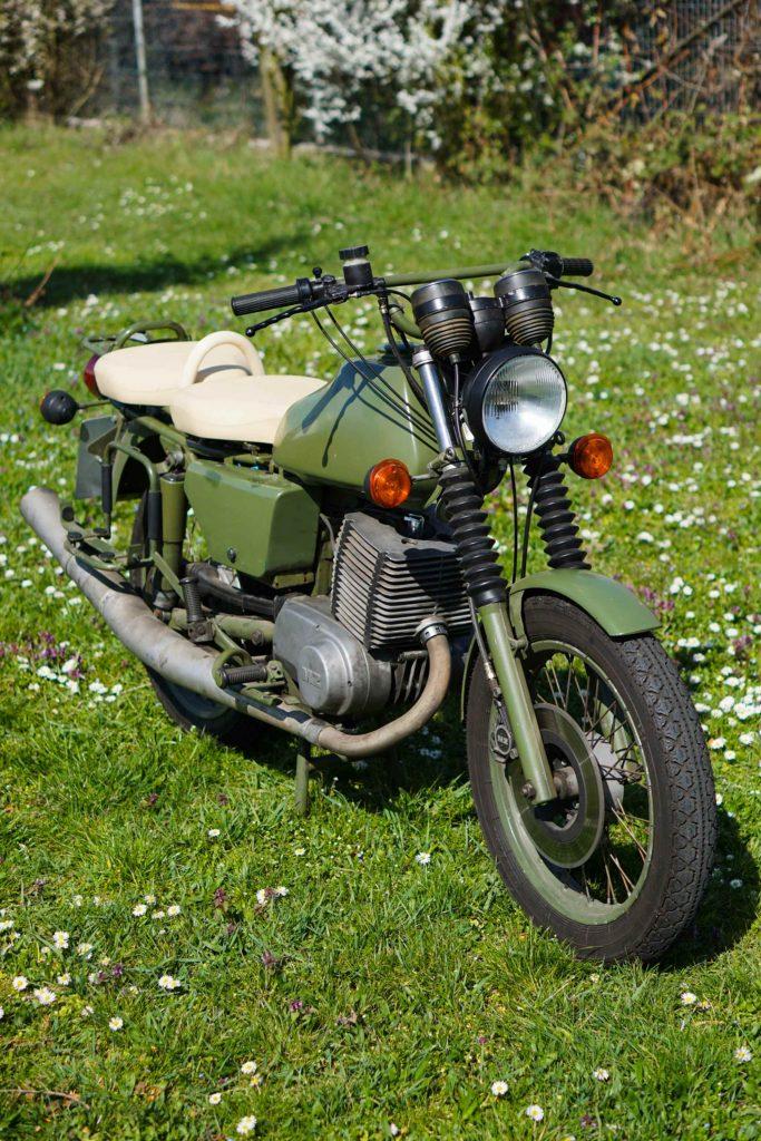 MZ ETZ 250 A Militär in grün