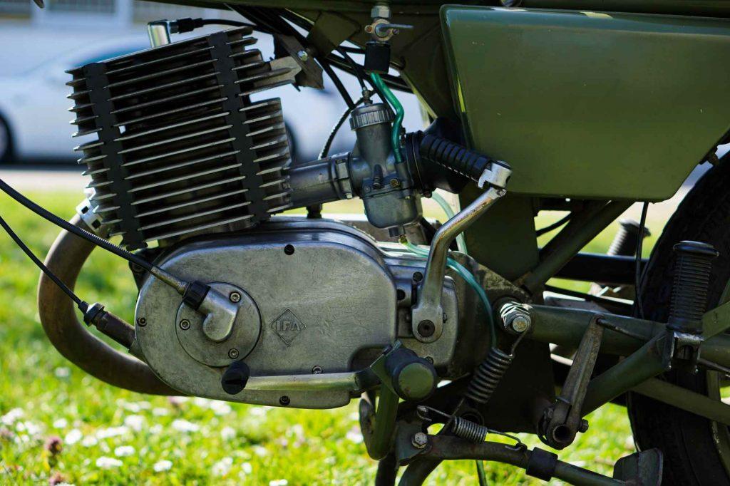 MZ ETZ 250 Motor mit Vergaser