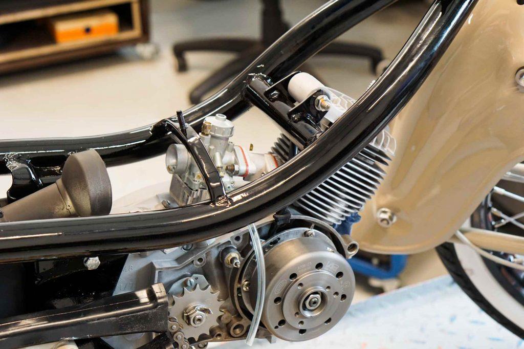 Motor 63 ccm in Simson Schwalbe KR51
