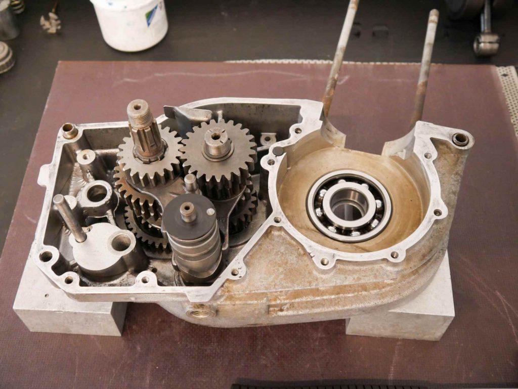 Motorregeneration MZ ETZ 250