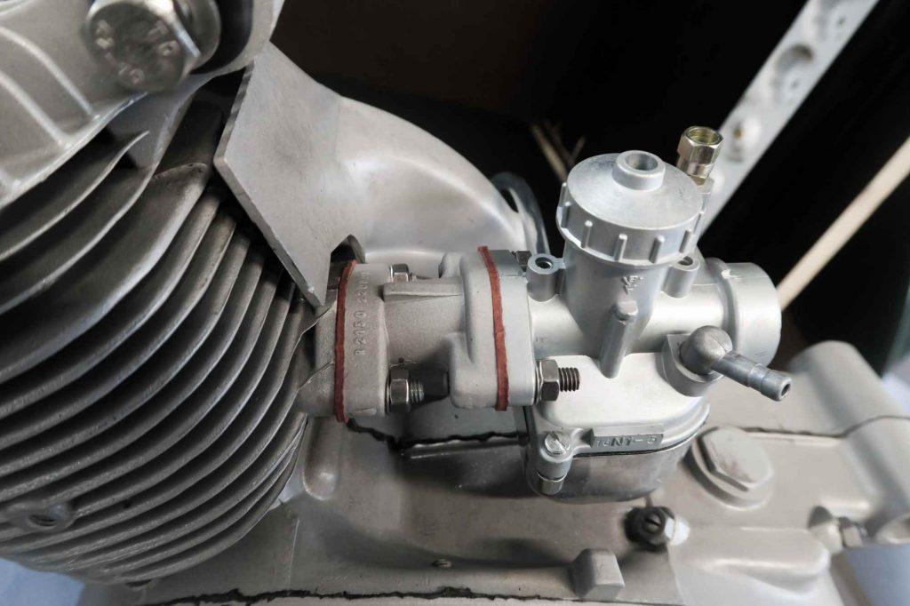 Motorregeneration Simson Schwalbe KR51 Motor mit Vergaser