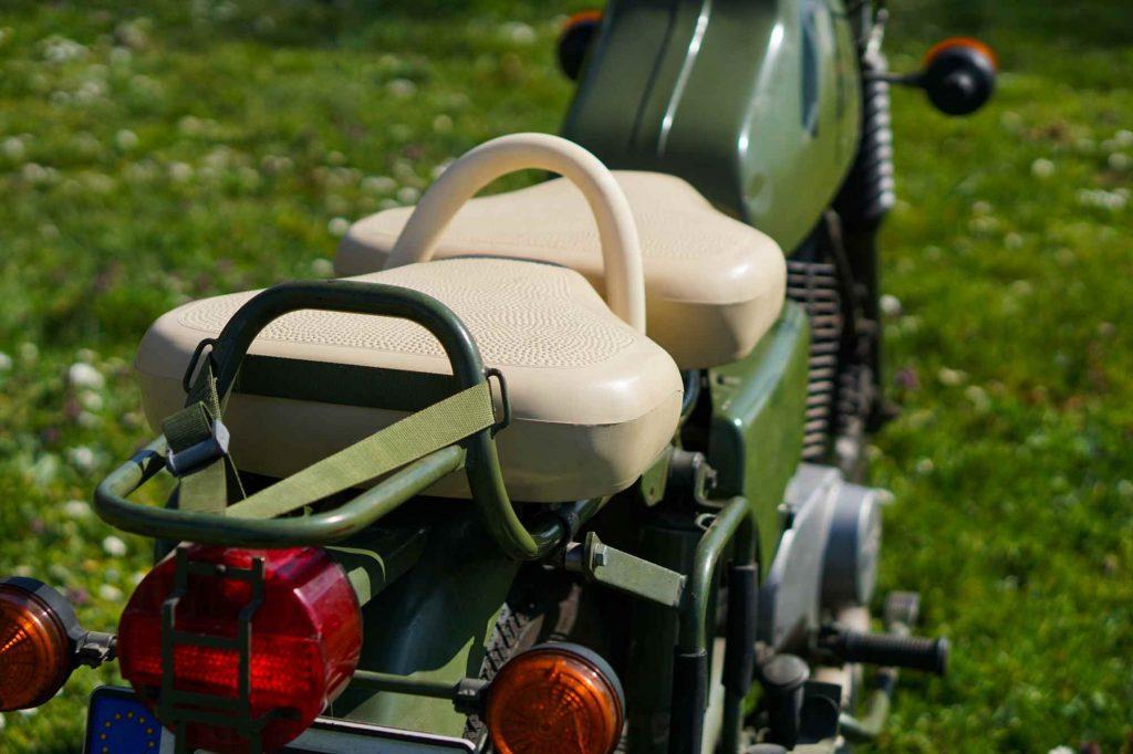 Sattel und Gepäckträger MZ ETZ 250
